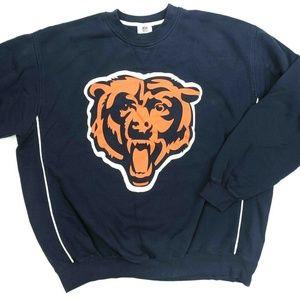 NFL Team Apparel Chicago Bears Crewneck Sweatshirt